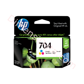 Jual Tinta / Cartridge HP Tri-color Ink  704 [CN693AA]
